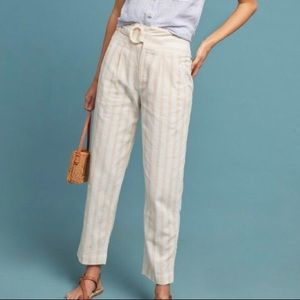 NEW Anthropologie Oasis Striped Pants